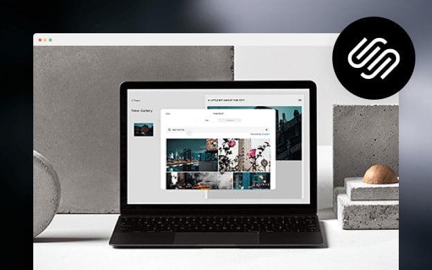 Unsplash API partner preview for Squarespace