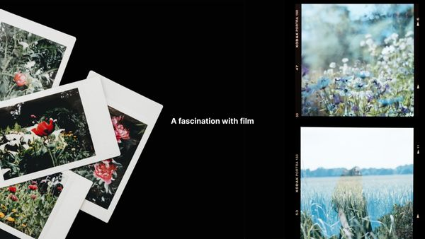 A fascination with film