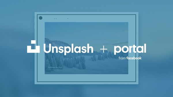 Unsplash + Portal from Facebook