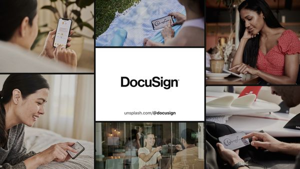 Unsplash + DocuSign